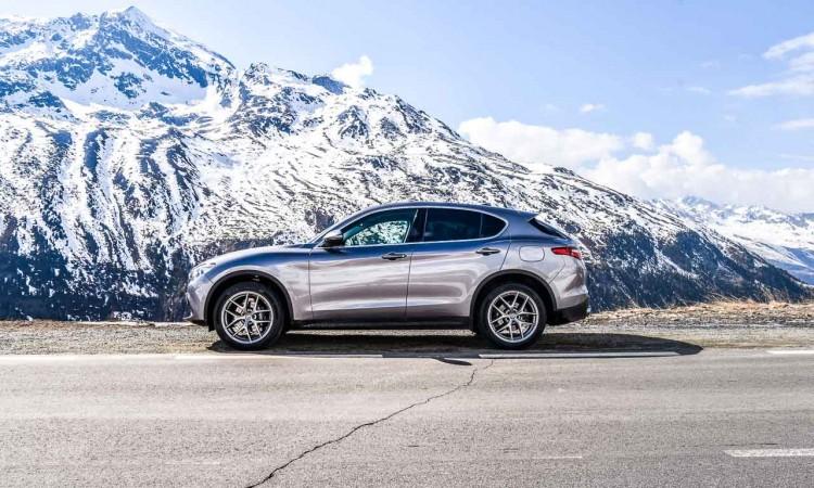 Erste Fahrt des Alfa Romeo Stelvio 2.0 Super durch die Tiroler Alpen