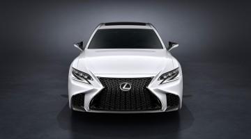 Lexus LS F Sport debütiert auf der New York Auto Show