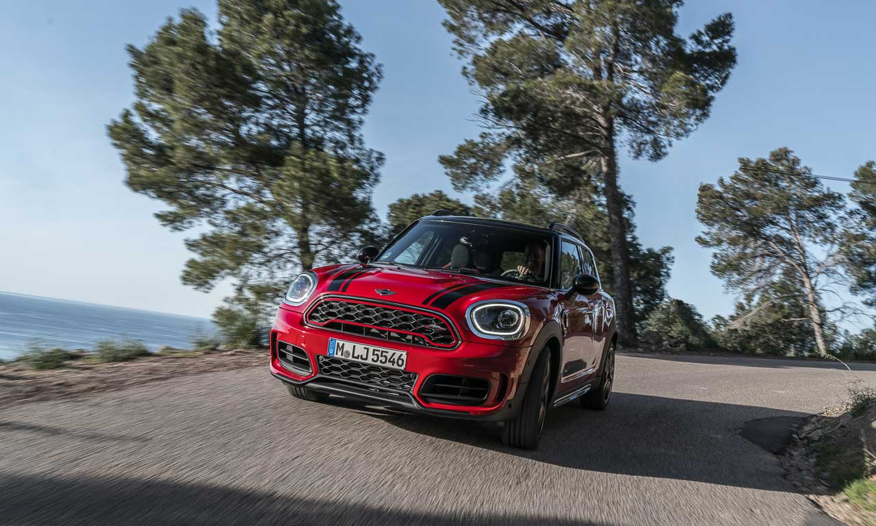 Mini John Cooper Works Countryman 4 - Neuvorstellung Audi R8 LMS GT4: Obacht, Cayman GT4 Clubsport!