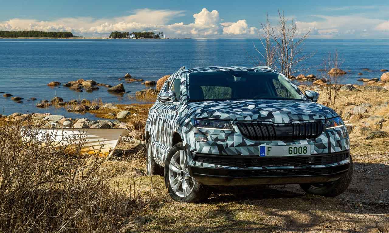 Skoda Karoq SUV Kompaktklasse Skoda Kodiaq AUTOmativ.de Benjamin Brodbeck-3