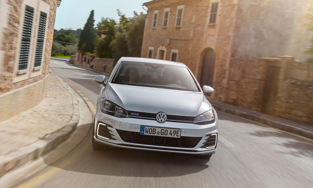 Volkswagen VW Golf GTE Hybrid 2017 mit 204 PS und 350 Nm im ersten Test und Fahrbericht