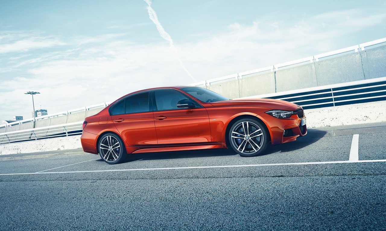 Neue Editionsmodelle der BMW 3er Reihe: Schatten und Licht