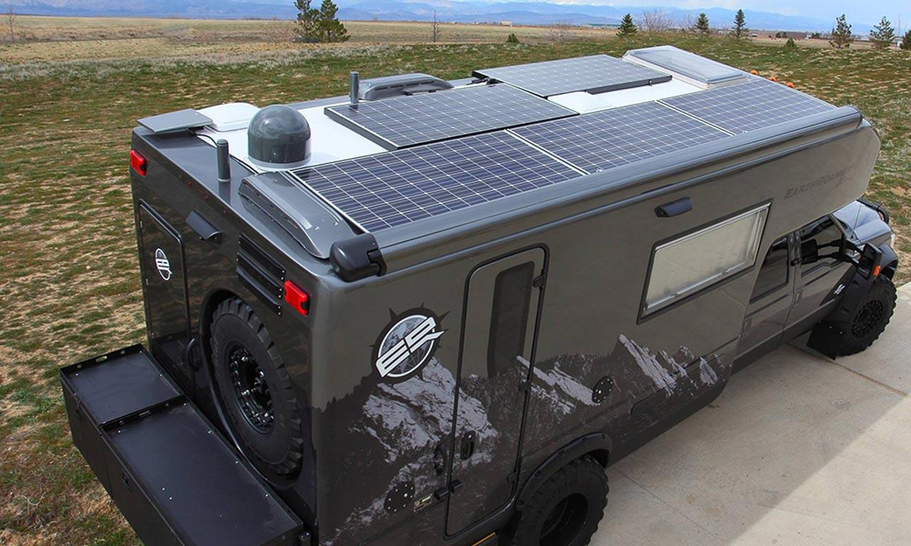 Earth Roamer XV LT XV LTS Expeditionsmobil Reisemobil Wohnwagen Ford Pick Up F150 AUTOmativ.de Benjamin Brodbeck1 5 - Earth Roamer XV-LTS: Dieses Teil fährt Sie zur Hölle und wieder zurück