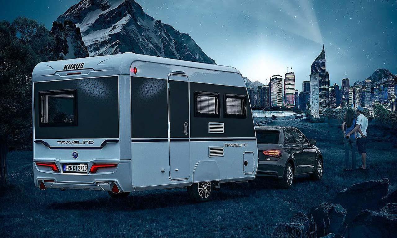 Knaus Travelino: Kleiner High-Tech Nobelcamper ab 19.070 Euro