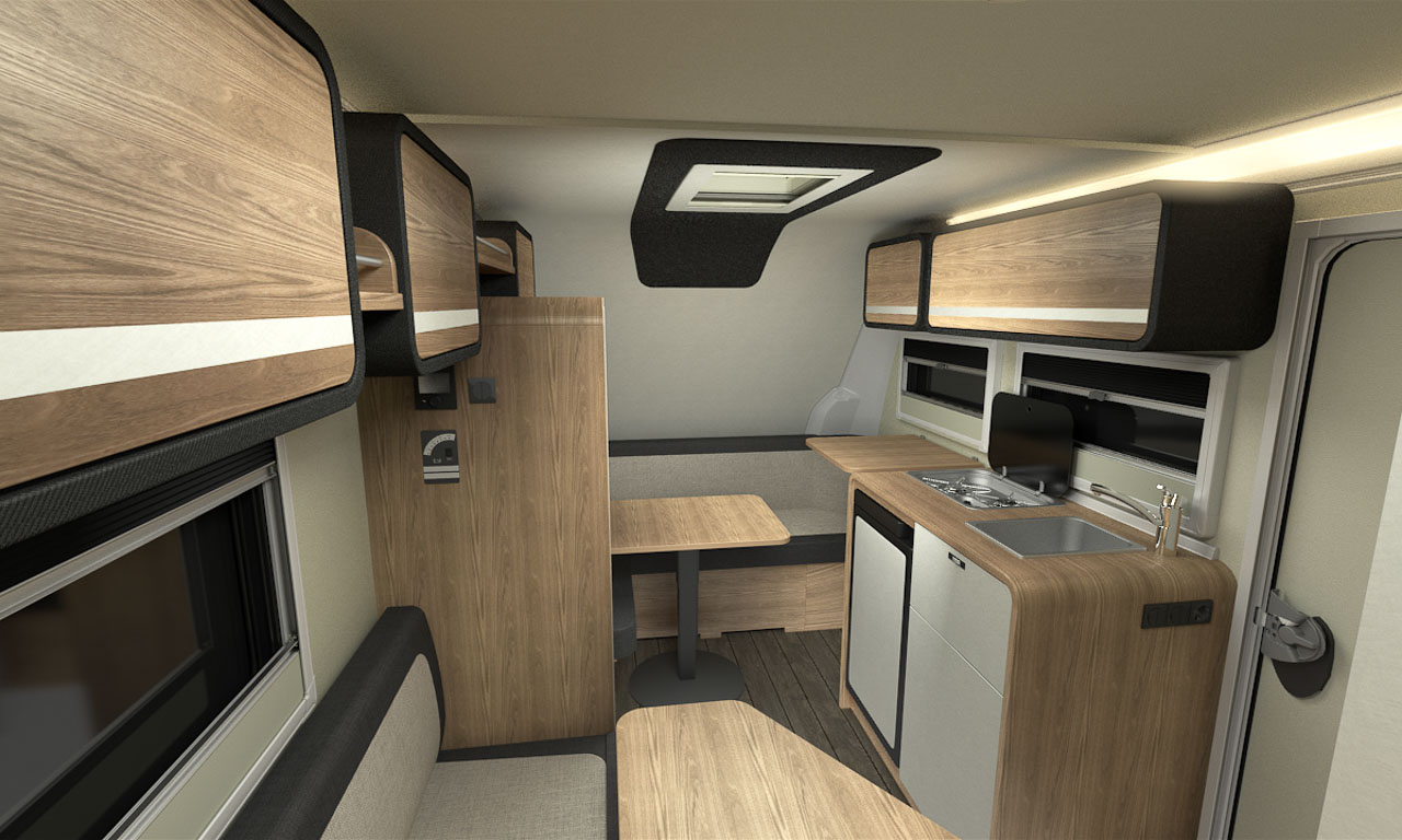 Knaus Tabbert Travelino AUTOmativ.de Benjamin Brodbeck Wohnwagen Camper 750 Kilogramm