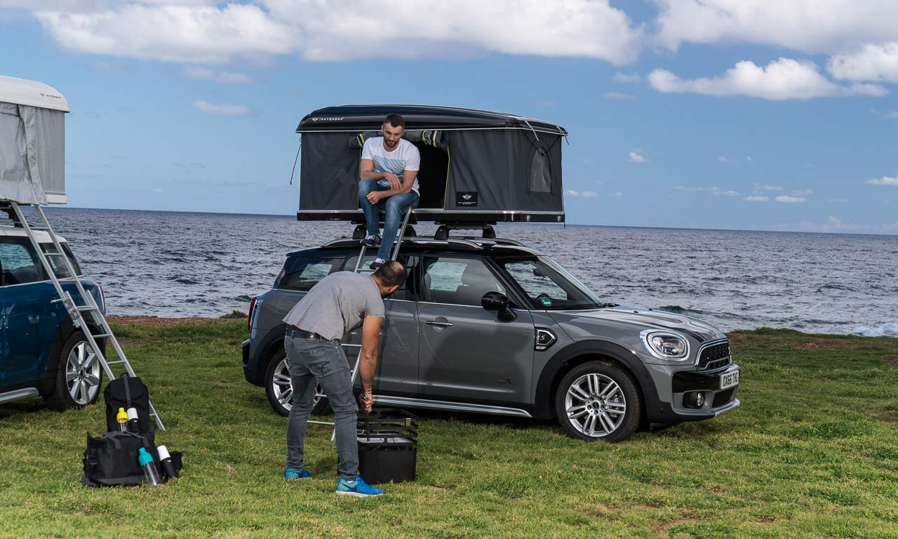 Mini Countryman Autohome AUTOmativ.de Expeditionsmobil - Machen Sie Ihren Mini Countryman zum Expeditionsmobil: Mini Autohome