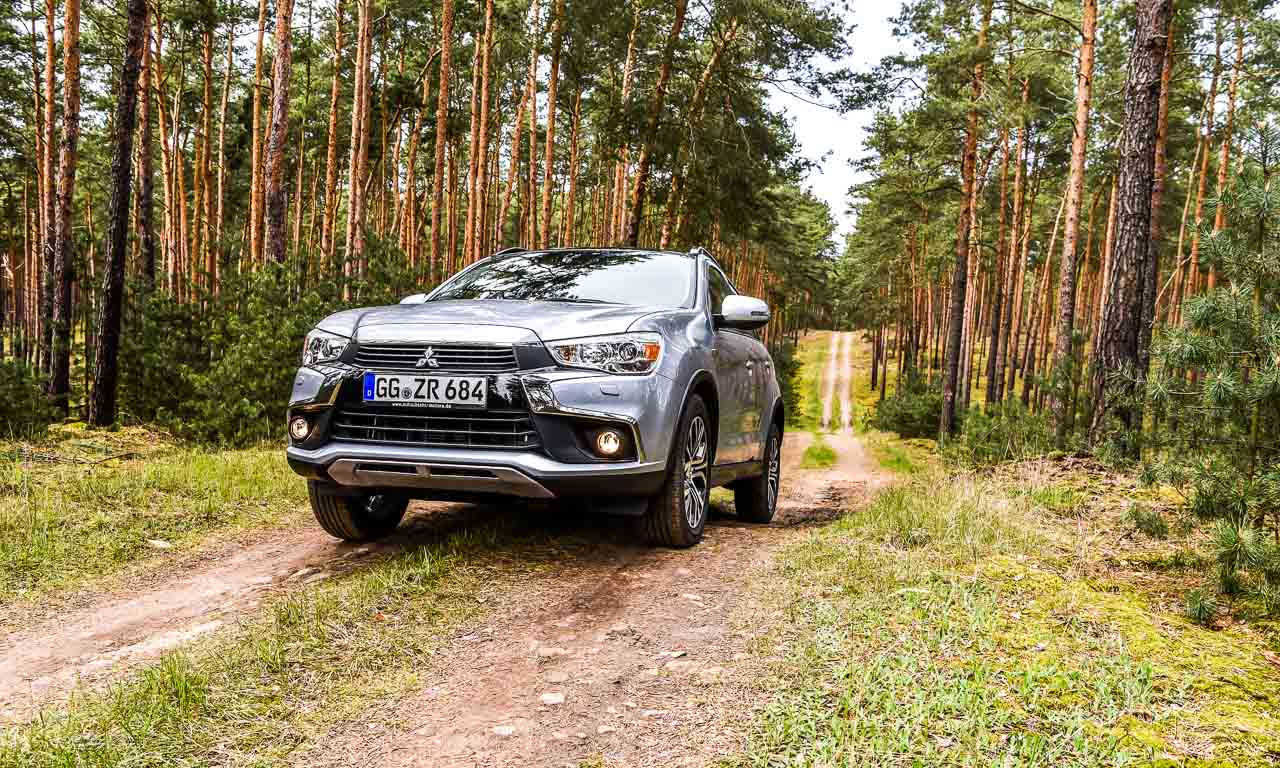 test mitsubishi asx 2 2 di d 4wd 150 ps auch er kann ordentlich offroad das. Black Bedroom Furniture Sets. Home Design Ideas