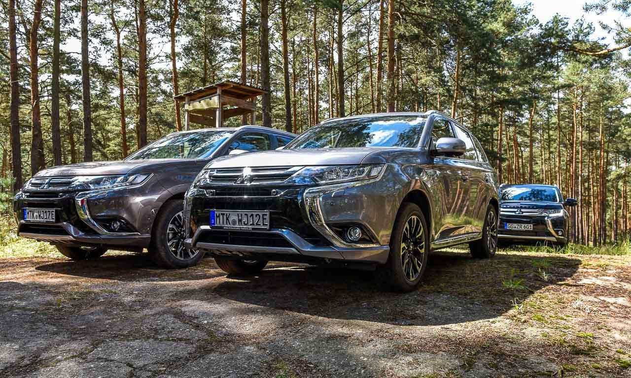 Mitsubishi Outlander PHEV Offroad Test - Offroad auf elektrisch: Mit dem Mitsubishi Outlander PHEV über Stock und Stein