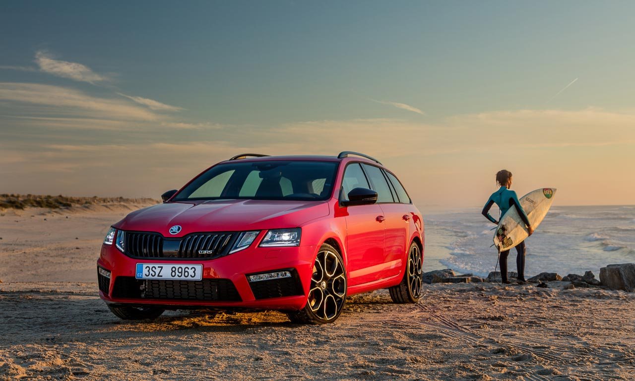 skoda octavia rs 245 topsportler kombi mit golf gti. Black Bedroom Furniture Sets. Home Design Ideas