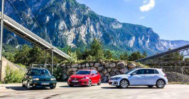 Ausfahrt: Volkswagen Rallye-Golf G60, 7er GTI Performance und GTE