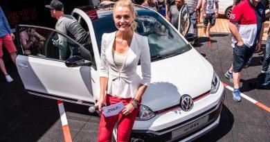 Volkswagen VW up GTI 2018 Woerthersee 2017 GTI Treffen AUTOmativ.de Benjamin Brodbeck 12 390x205 - Der neue Volkswagen up! GTI kommt Anfang 2018 mit 115 PS und 200 Nm!
