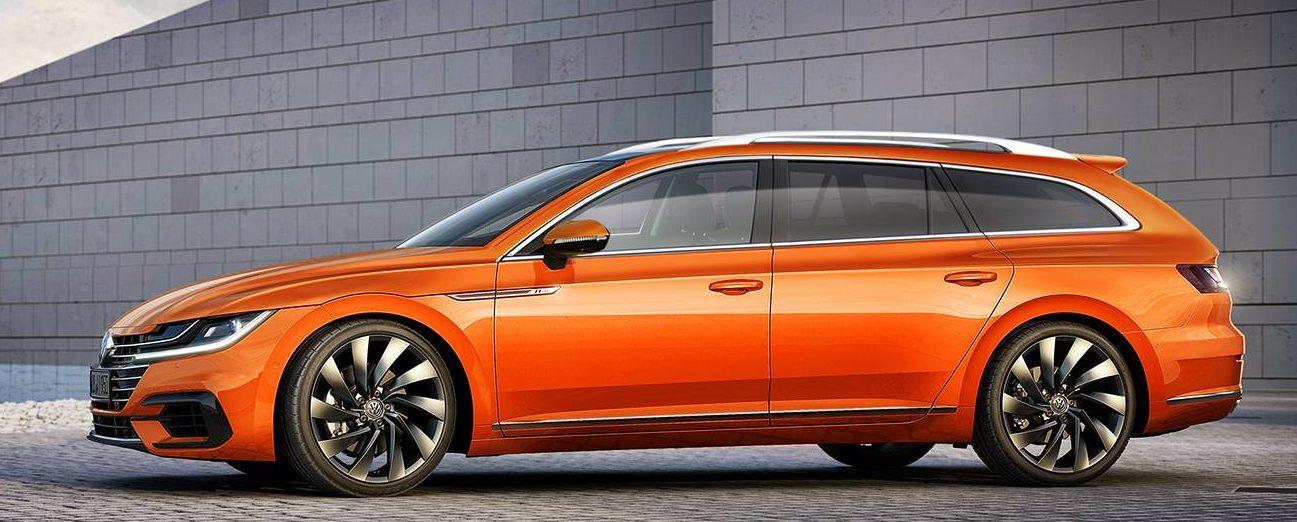 So könnte der VW Arteon Variant aussehen, wenn man dem begnadeten Tomi-Design Glauben schenkt.