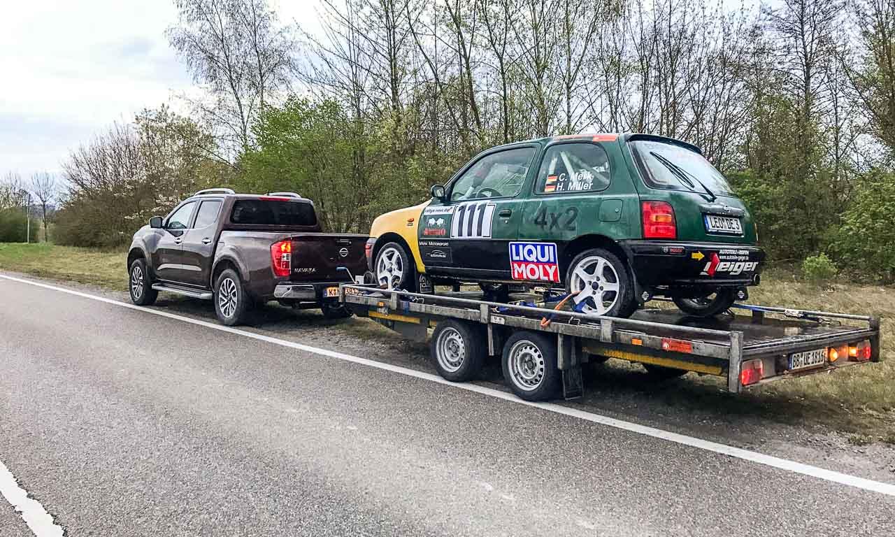 1Nissan Navara PickUp Truck 4x4 2017 Offroad im Steinbruch Test von AUTOmativ.de Benjamin Brodbeck Fahrbericht1 4 - Mit unserem 150 Euro Nissan Micra heute zum Rallye-Pokal!