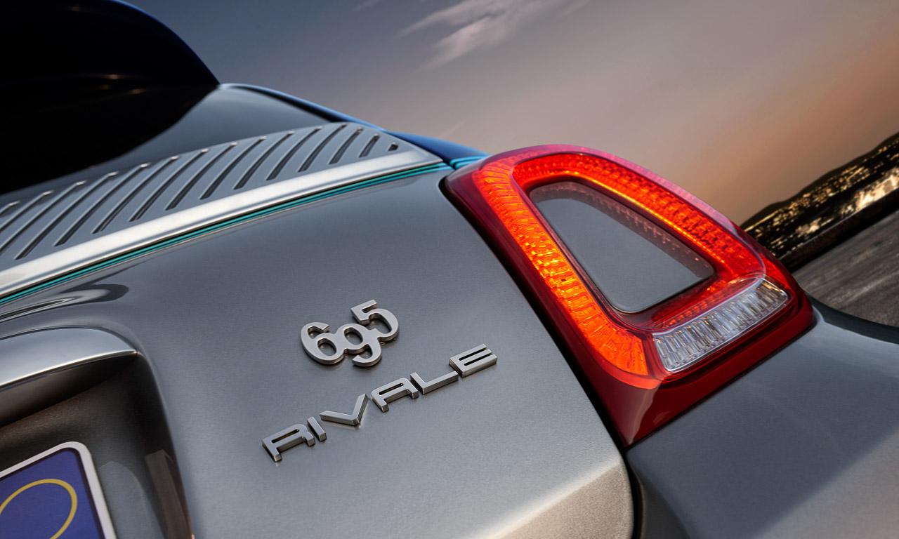 Abarth 695 Rivale AUTOmativ.de 10 - Abarth 695 Rivale und Rivale 175th Anniversary stehen für Leistung und Eleganz