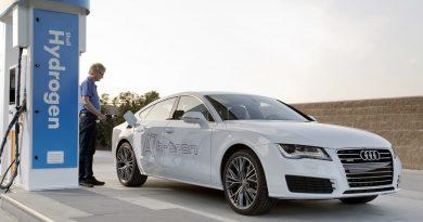 Audi A7 Hydrogen Brennstoffzelle