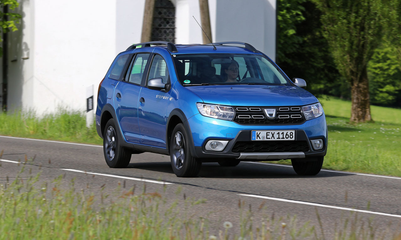Dacia Logan MCV Stepway AUTOmativ.de Benjamin Brodbeck 4 - Dacia Logan MCV Stepway ab 12.200 Euro jetzt auch im Offroad-Look!