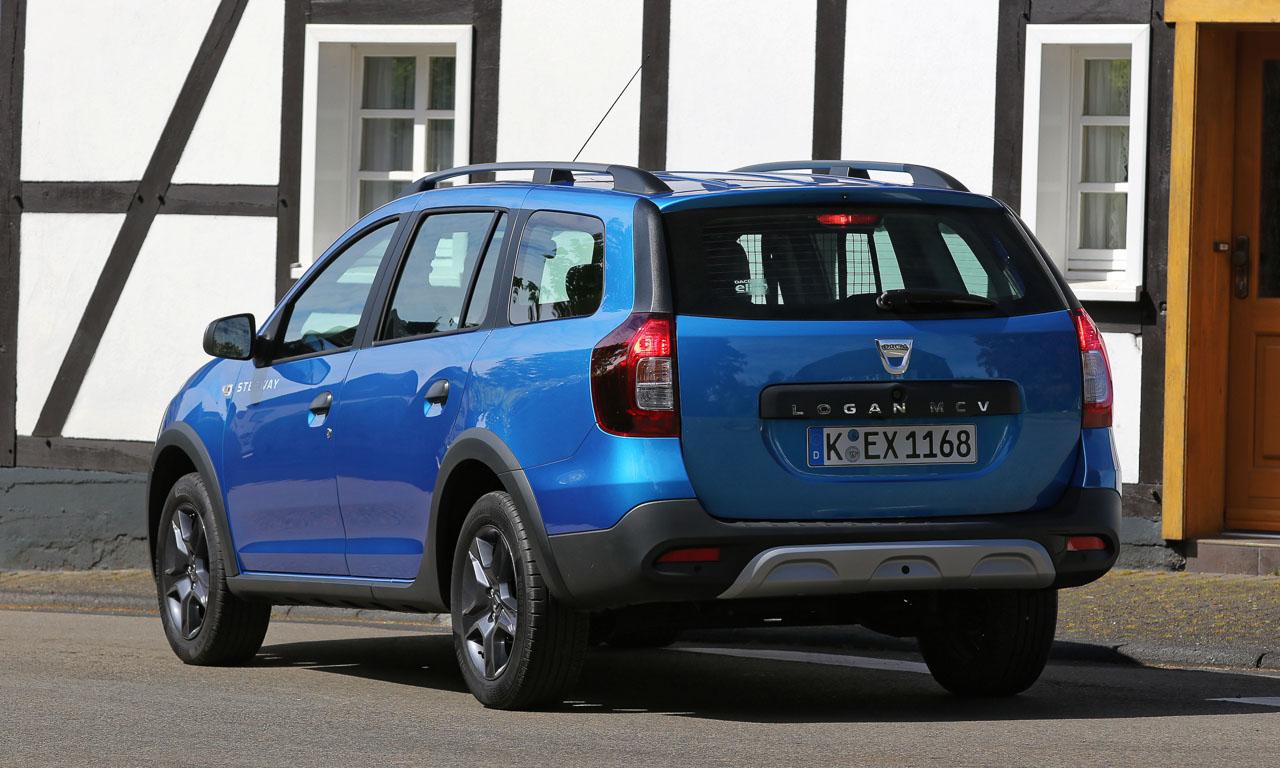 Dacia Logan MCV Stepway AUTOmativ.de Benjamin Brodbeck 5 - Dacia Logan MCV Stepway ab 12.200 Euro jetzt auch im Offroad-Look!
