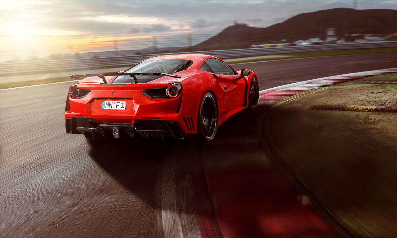 Novitec Ferrari 488 GTB N Largo AUTOmativ.de Stefan Emmerich - Novitec Ferrari 488 GTB N-Largo: Breitbau mit italienischem Herz