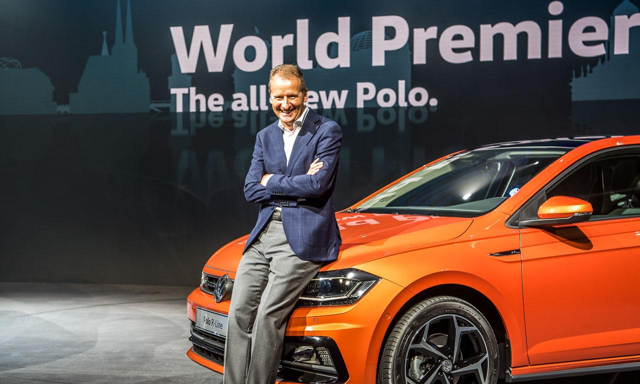 Volkswagen Neuer VW Polo 2018 GTI R Line Trendline Premiere AUTOmativ.de Benjamin Brodbeck Berlin 7 - Erste Sitzprobe im neuen VW Polo der 6. Generation: Der Golf-Kannibale