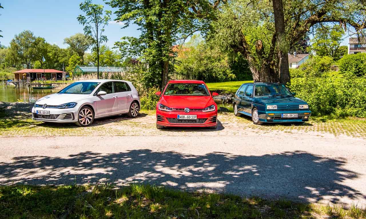 Volkswagen Rallye Golf G60 Ausfahrt Italien Woerthersee GTI Treffen 2017 Golf GTI 7 GTE AUTOmativ.de Benjamin Brodbeck LQ - Ausfahrt: Volkswagen Rallye-Golf G60, 7er GTI Performance und GTE