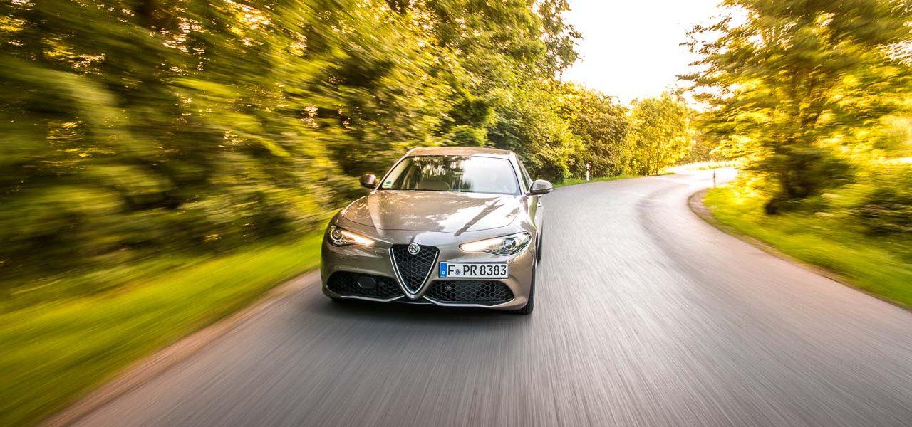 Alfa Romeo Giulia Veloce 2.2 Diesel im Fahrbericht: Selbstbewusste Signorina