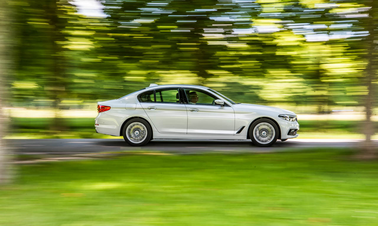 1BMW 5er 530i Sport Line Facelift 2017 252 PS 2.0 Liter im Test und Fahrbericht Review AUTOmativ.de Benjamin Brodbeck 19 - BMW 530i Sport Line (2017) im Fahrbericht: Luxuriöser Technologie-Kreuzer