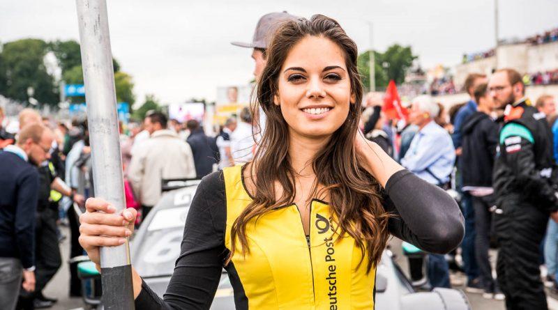 Die Grid-Girls vom Norisring 2017 jetzt auch in sonntäglicher Trockenheit!