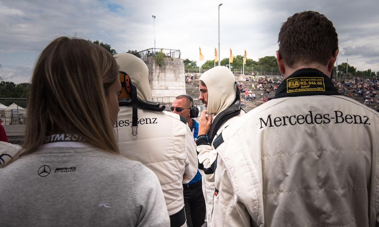 DTM Deutsche Tourenwagen Meisterschaft Norisring 2017 Petronas Nuernberg AUTOmativ.de Benjamin Brodbeck Mercedes AMG BMW Audi Sport SONNTAG 3 - Mitfahrt meines Lebens: Mit Daniel Juncadella im AMG C63 DTM über den Norisring