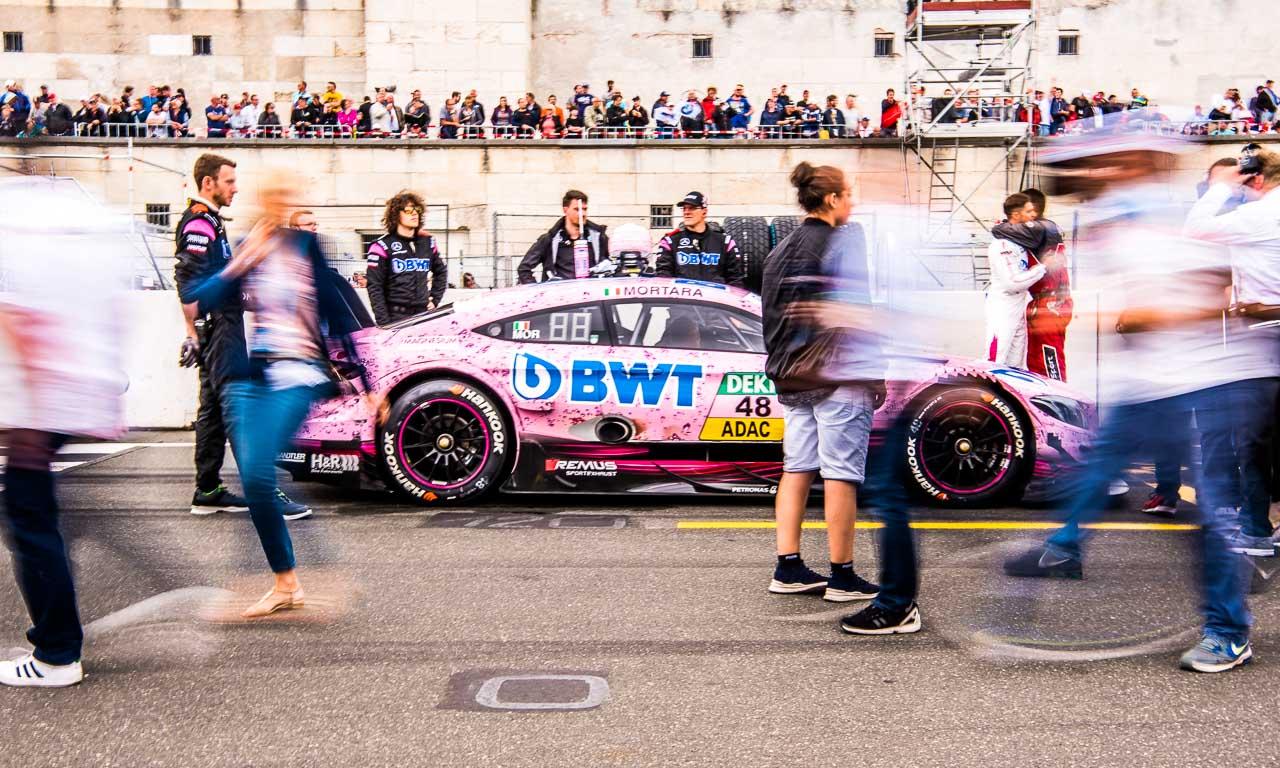 DTM Deutsche Tourenwagen Meisterschaft Norisring 2017 Petronas Nuernberg AUTOmativ.de Benjamin Brodbeck Mercedes AMG BMW Audi Sport SONNTAG 56 - Mitfahrt meines Lebens: Mit Daniel Juncadella im AMG C63 DTM über den Norisring