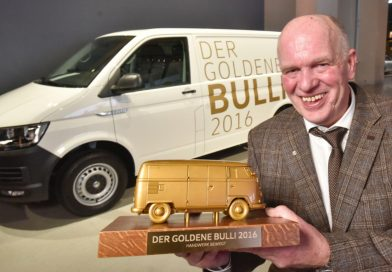 Der Goldene Bulli 2017: Auch dieses Jahr wieder einen neuen VW T6 Transporter gewinnen!