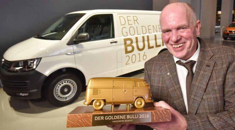 Der Goldene Bulli auch wieder 2017 gewinnen