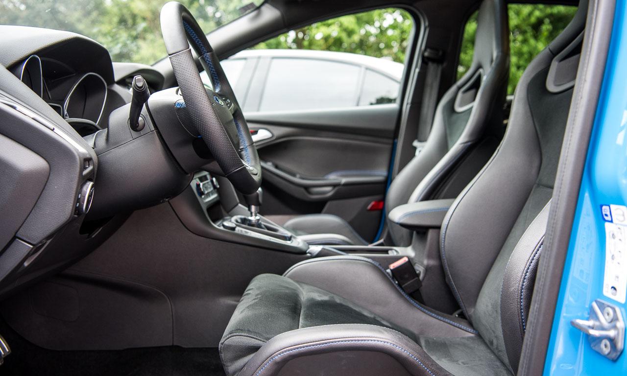 Ford Focus RS im Test von AUTOmativ.de Benjamin Brodbeck Stefan Emmerich 8 - Fahrbericht Ford Focus RS: Er will nicht bequem sein!