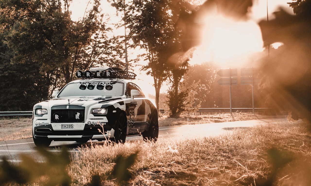 Jon Olson Rolls Royce Camo AUTOmativ.de Benjamin Brodbeck 2 - Mit dem Monster-Rolls Wraith von Jon Olsson auf Tuchfühlung