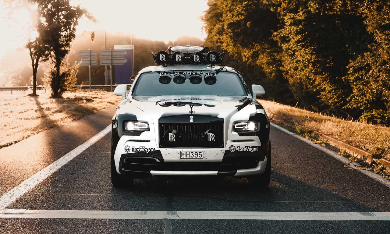 Jon Olson Rolls Royce Camo AUTOmativ.de Benjamin Brodbeck 4 - Mit dem Monster-Rolls Wraith von Jon Olsson auf Tuchfühlung