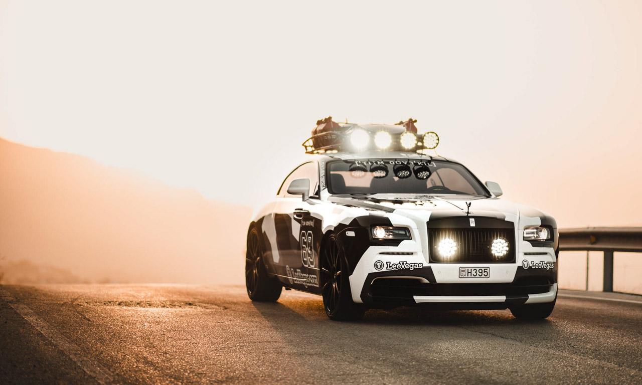 Jon Olson Rolls Royce Camo AUTOmativ.de Benjamin Brodbeck 6 - Mit dem Monster-Rolls Wraith von Jon Olsson auf Tuchfühlung