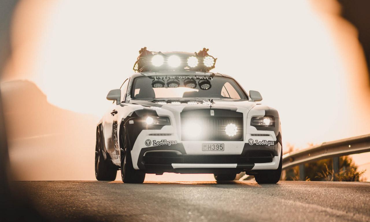 Jon Olson Rolls Royce Camo AUTOmativ.de Benjamin Brodbeck 7 - Mit dem Monster-Rolls Wraith von Jon Olsson auf Tuchfühlung