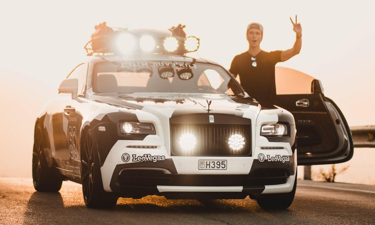 Jon Olson Rolls Royce Camo AUTOmativ.de Benjamin Brodbeck 8 - Mit dem Monster-Rolls Wraith von Jon Olsson auf Tuchfühlung