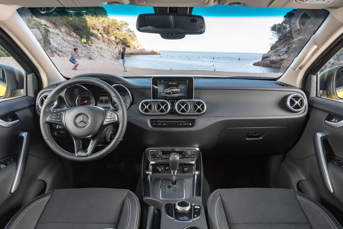 Mercedes X Klasse AUTOmativ.de 9 - Mercedes-Benz X-Klasse: Der Pick-Up als neuester Lifestyle-Trend?