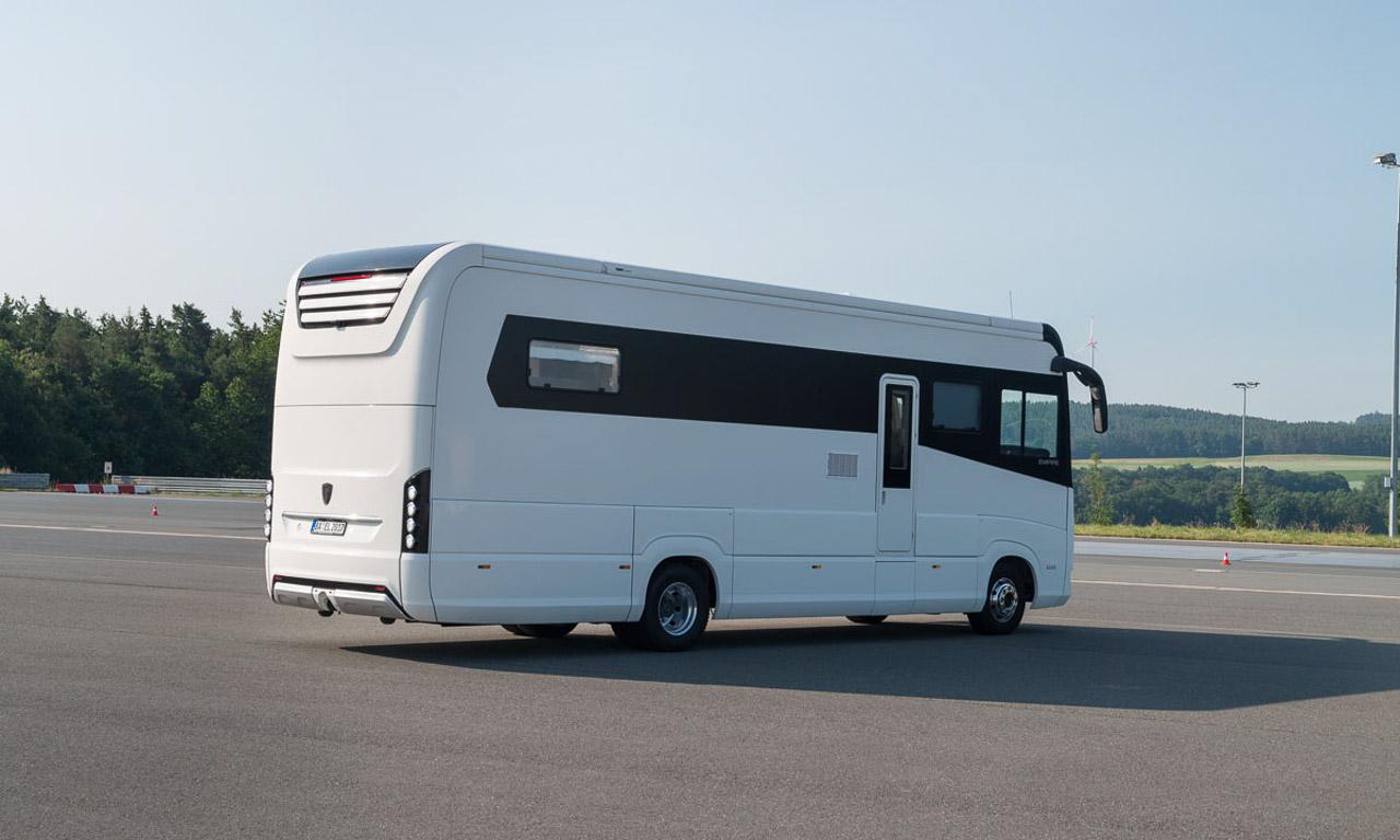 Morelo Empire Wohnmobil Reisemobil Luxus Travel AUTOmativ.de Benjamin Brodbeck 8 - Morelo Empire: Ein Königreich auf Rädern