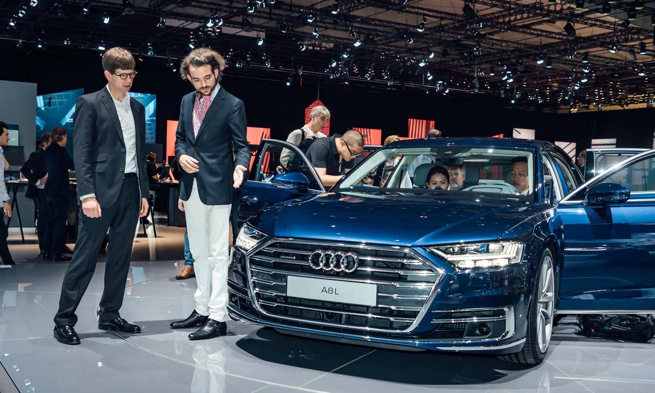 """""""Level 4 des autonomen Fahrens wird so schnell noch nicht kommen"""", sagte uns Dr. Kiss in unserem ausführlichen Gespräch über Audi AI."""
