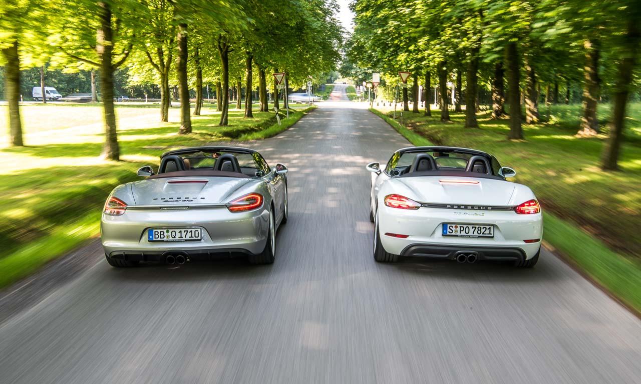 Porsche Boxster GTS 981 und 718 Boxster S im Vergleich Roadster Porsche AUTOmativ.de Benjamin Brodbeck 12 - Porsche 981 Boxster GTS oder 718 Boxster S? Unsere Entscheidung ist gefallen!