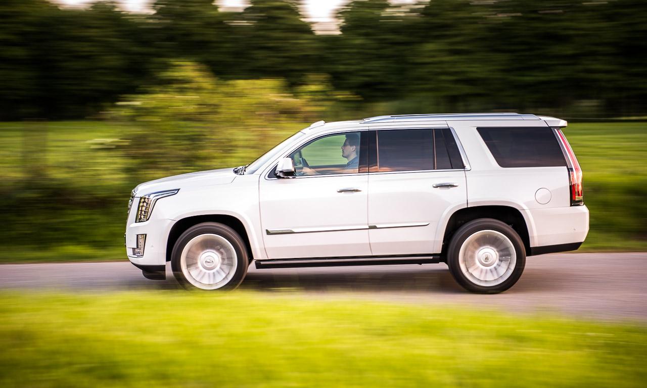 Der amerikanische Traum? Womöglich. Der Cadillac Escalade ist glasklar designt - und faszinierend.