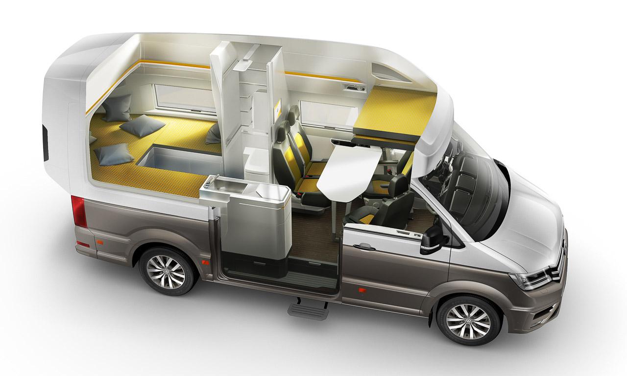 VW California XXL 2 - Das Glas- und Beleuchtungskonzept im VW California XXL ist gigantisch