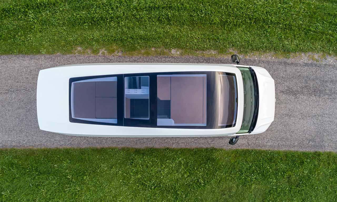 VW California XXL 22 - Das Glas- und Beleuchtungskonzept im VW California XXL ist gigantisch