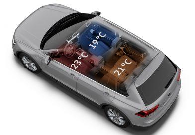 Volkswagen Air Care Climatronic: Ab sofort kann man mit einem VW hinter einem VW herfahren!