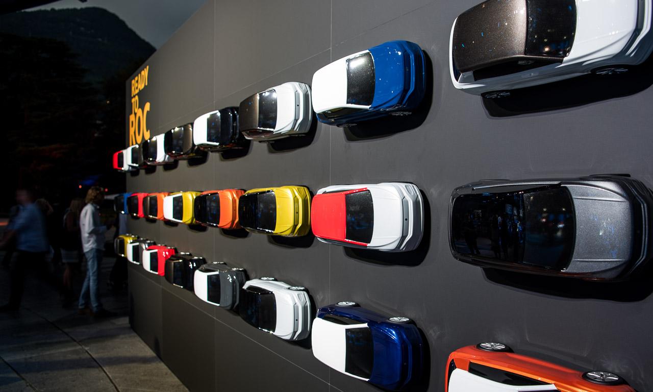 VW T Roc Premiere 5 - VW T-Roc im Tech-Check zusammen mit VW Marketing und PR (Video)