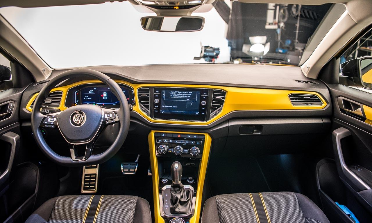 VW Volkswagen T Roc Premiere Review Test Studio AUTOmativ.de Benjamin Brodbeck 26 1 - Erste Sitzprobe im VW T-Roc: Kleines SUV frisch und funky!
