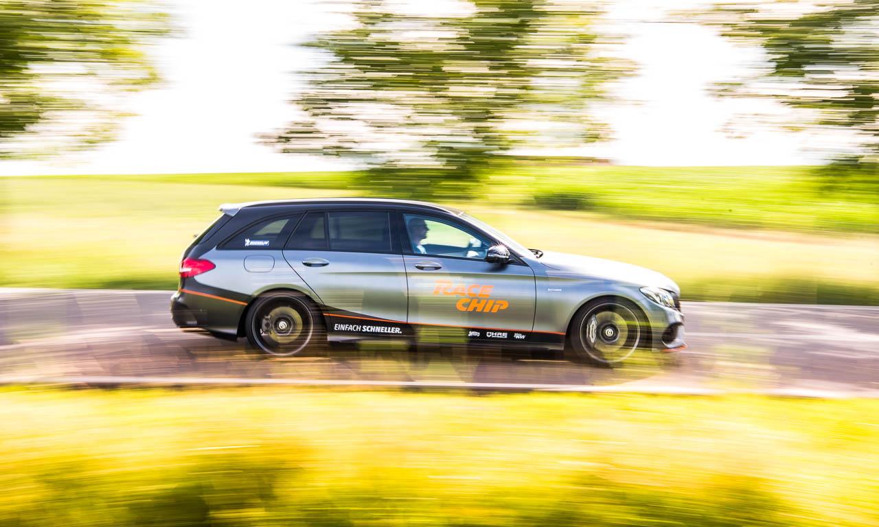 4RaceChip Mercedes AMG C43 405 PS Chiptuning AUTOmativ.de Benjamin Brodbeck Leonberg Stuttgart Mercedes 14 - RaceChip C43 AMG im Fahrbericht: Der C63 AMG so nah!