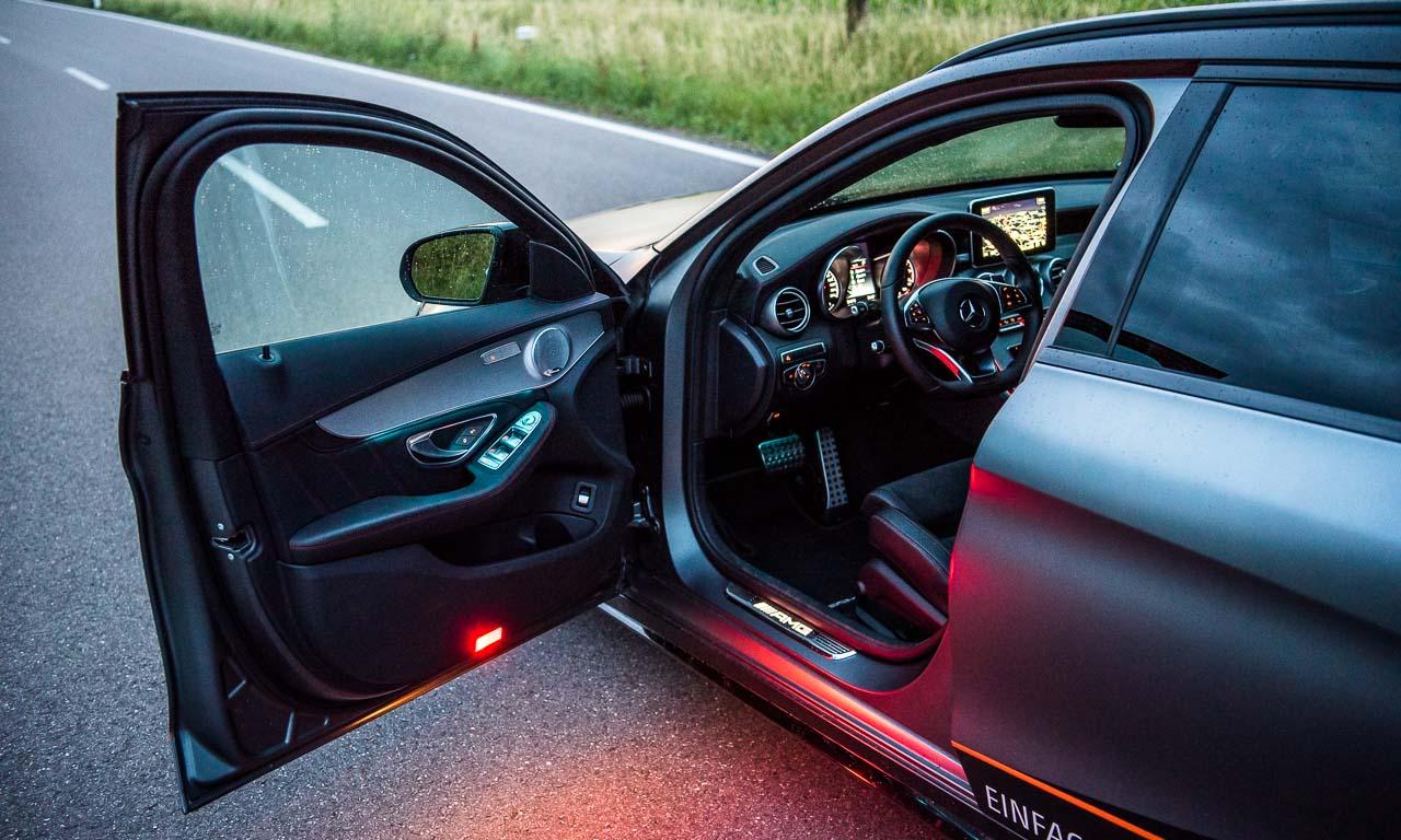 7RaceChip Mercedes AMG C43 405 PS Chiptuning AUTOmativ.de Benjamin Brodbeck Leonberg Stuttgart Mercedes 13 - RaceChip C43 AMG im Fahrbericht: Der C63 AMG so nah!