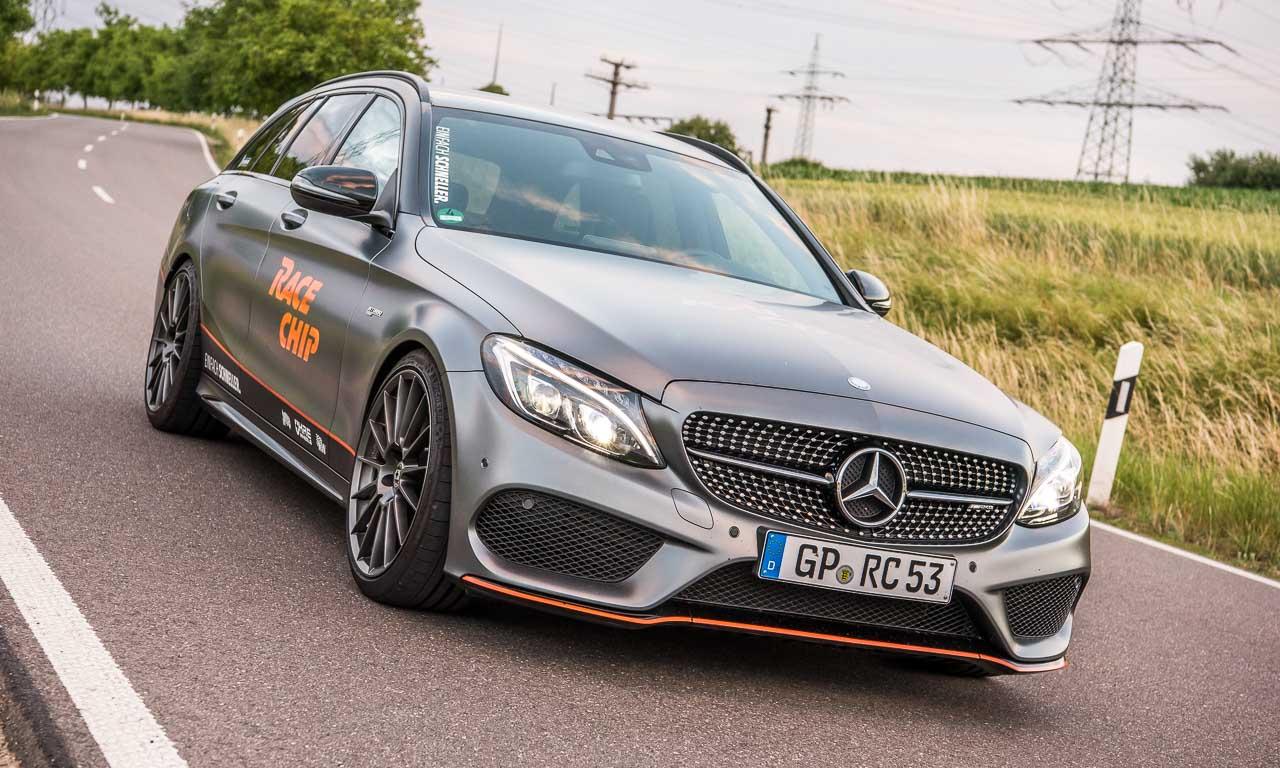 9RaceChip Mercedes AMG C43 405 PS Chiptuning AUTOmativ.de Benjamin Brodbeck Leonberg Stuttgart Mercedes 2 - RaceChip C43 AMG im Fahrbericht: Der C63 AMG so nah!